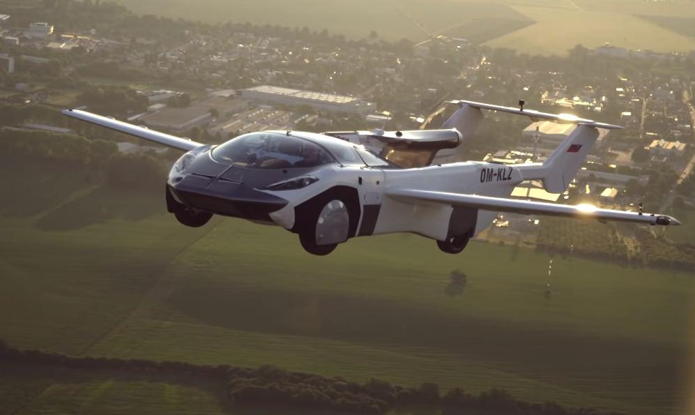 Photo of Летающий автомобиль AirCar отправился в первый рейс между двумя городами