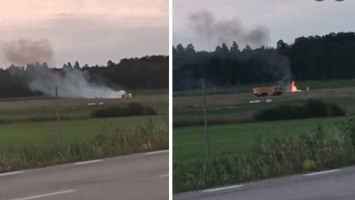 Photo of Շվեդիայում թռիչքից հետո ուղեւորատար ինքնաթիռ է կործանվել