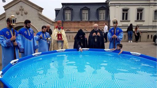 Photo of Քրիստոսի Պայծառակերպության տոնը Վիրահայոց թեմում