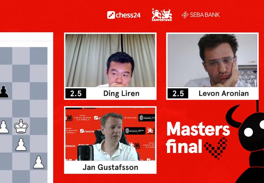 Photo of San Fermin Masters. Левон Аронян победил Дина Лирена в полуфинале
