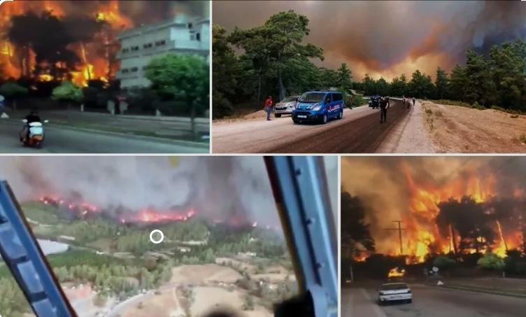 Photo of Տեսանյութեր. Թուրքիայի 7 նահանգներ անտառային հրդեհների ճիրաններում են. դրանք մոլեգնում են Ադանայում, Անթալիայում, Կայսերիում, Մերսինում եւ այլուր