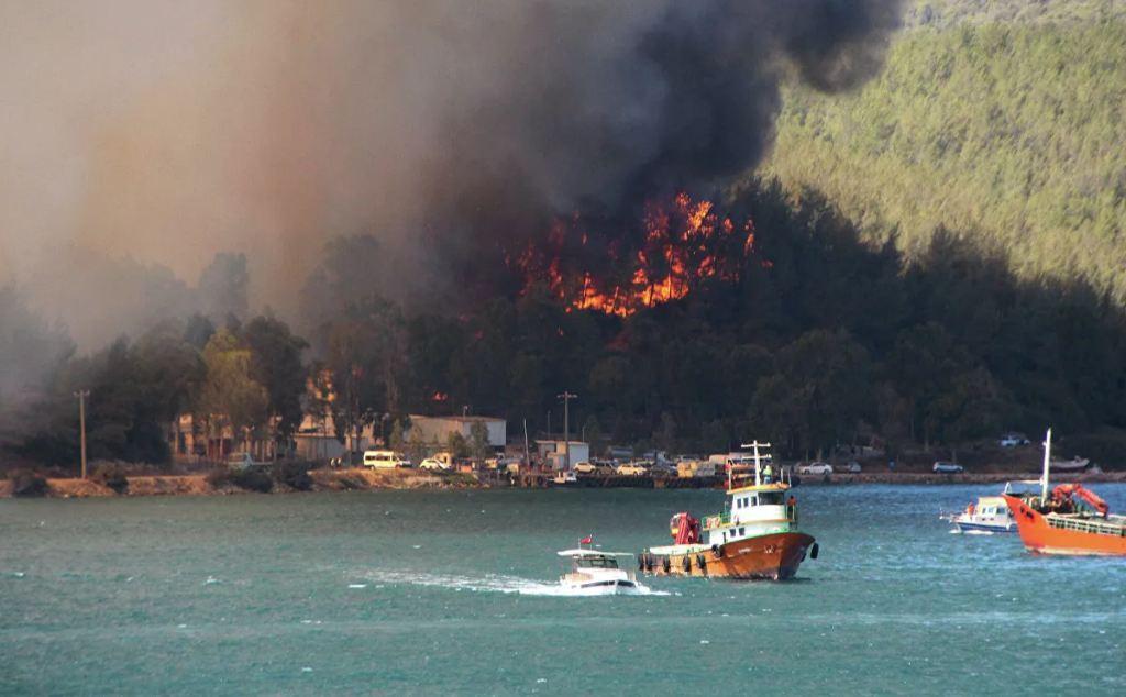 Photo of В районе турецкого Бодрума возник новый лесной пожар