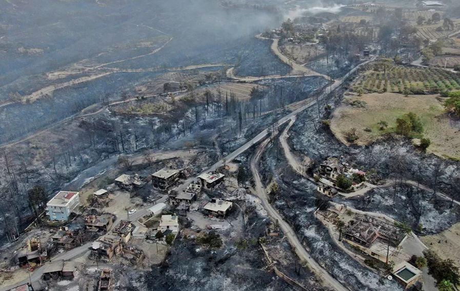 Photo of Эрдоган назвал возможную причину лесных пожаров в Турции