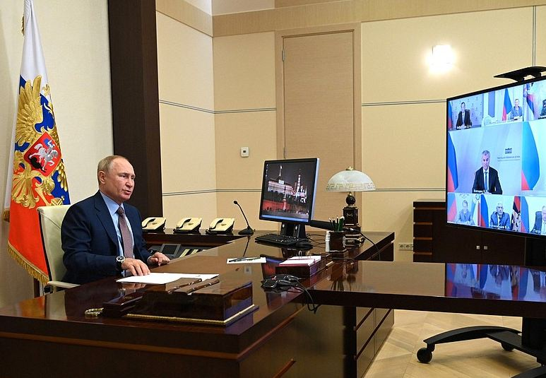 Photo of Պուտինն անցկացրել է օպերատիվ խորհրդակցություն, որի ընթացքում քննարկվել է Ադրբեջանի ու Հայաստանի սահմանին տիրող իրավիճակը