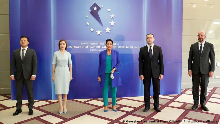 Photo of Грузия, Молдова и Украина заявили на конференции в Батуми о стремлении в ЕС