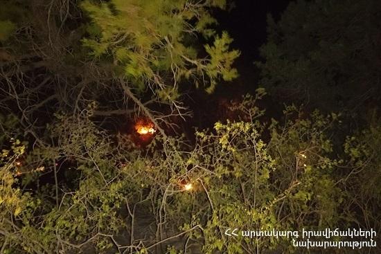 Photo of Հրդեհ Խոսրովի պետական արգելոցում. այրվում են մոտ 7000 քմ խոտածածկույթ, տորֆաշերտ և գիհու ծառեր
