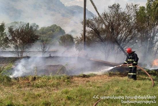 Photo of Հրշեջ-փրկարարները մարել են ընդհանուր 50 հա տարածքում բռնկված հրդեհները