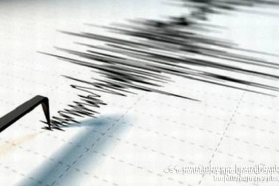 Photo of Землетрясение в 12 км к юго-востоку от села Елпин Вайоц Дзорской области силой в 3-4 балла