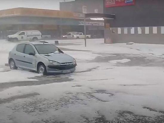 Photo of Հարավային Աֆրիկայում գրանցվել է ռեկորդային՝ մոտ 10 աստիճան ցուրտ, որոշ շրջաններում ձյուն է տեղացել