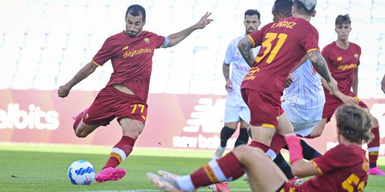 Photo of «Рома» и «Севилья» не выявили победителя, Мхитарян сыграл с капитанской повязкой
