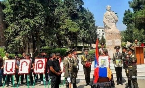 Photo of Մարտունին հրաժեշտ է տվել Արցախի հերոս Արթուր Աղասյանին