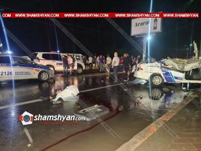 Photo of Ողբերգական ավտովթար Արմավիրի մարզում. բախվել են ոստիկանական Samand-ն ու Volkswagen-ը. կա 3 զոհ. մահացածներից 2-ը ոստիկան են