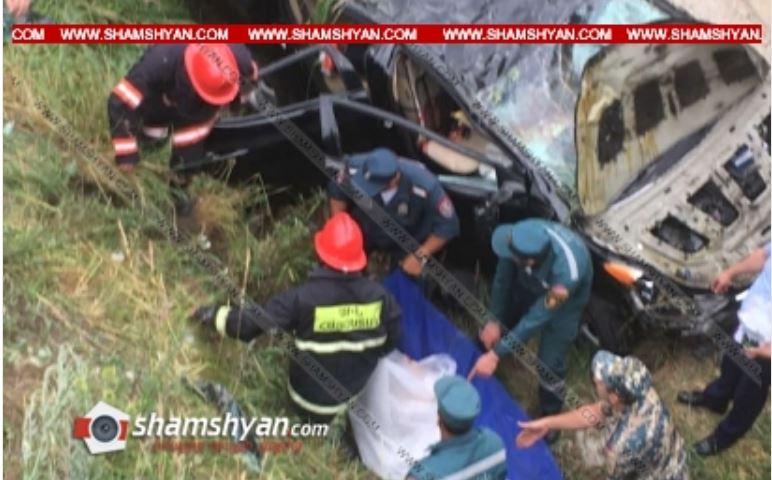 Photo of Ողբերգական ավտովթար Լոռու մարզում. Hyundai Elantra-ն մի քանի պտույտ շրջվելով՝ հայտնվել է ձորակում. 2 կին տեղում մահացել են