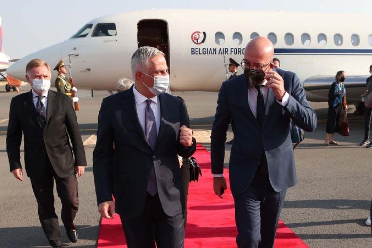 Photo of Председатель Европейского совета Шарль Мишель прибыл в Армению