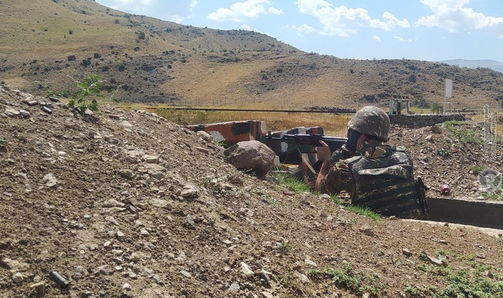 Photo of Անցկացվել է կրակային պատրաստության գործնական պարապմունք