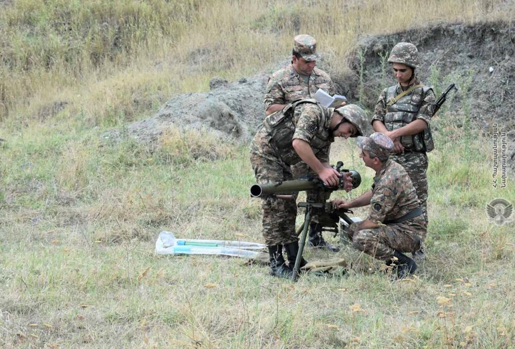 Photo of Անցկացվել է վաշտային մարտավարական զորավարժություն