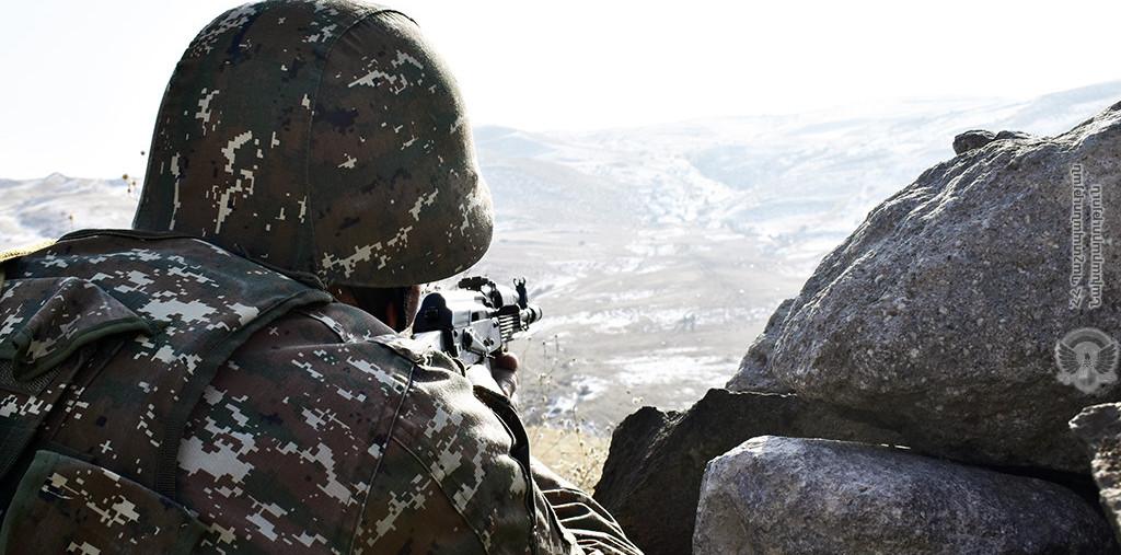 Photo of Ночью противник открыл огонь по армянским позициям в Гегаркунике: МО Армении