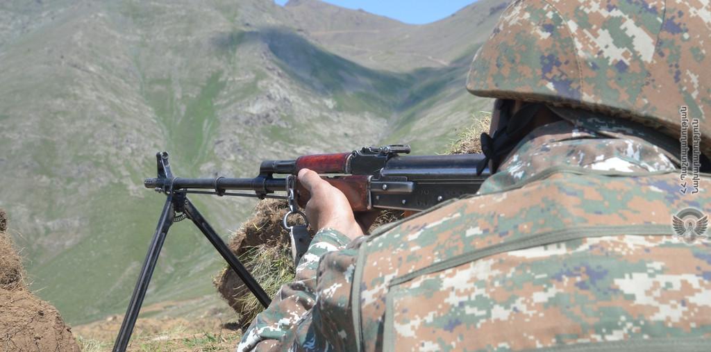 Photo of Азербайджанские ВС вновь открыли огонь по армянским позициям в Гегаркунике: ранен солдат