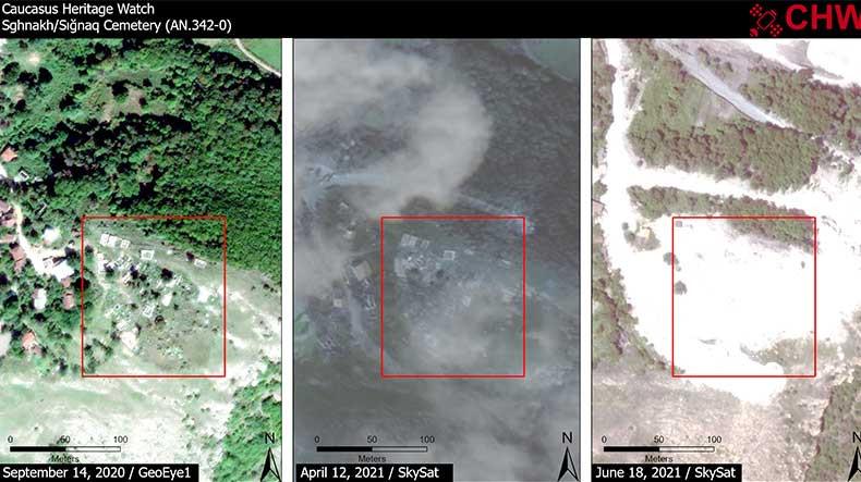 Photo of CHW опубликовал фотографии разрушенных кладбищ Сгнаха.