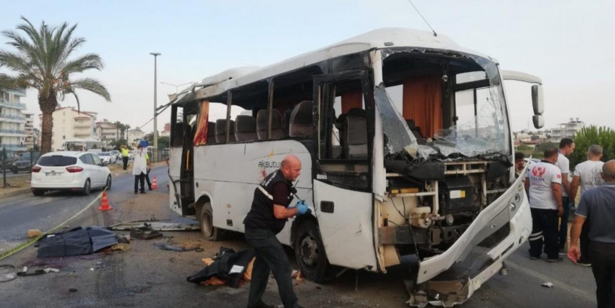 Photo of Թուրքիայում վթարվել է ռուսաստանցի զբոսաշրջիկներ տեղափոխող ավտոբուս. կան զոհեր և վիրավորներ