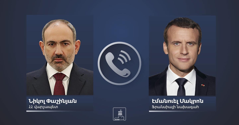Photo of Пашинян и Макрон обсудили ситуацию на армяно-азербайджанской границе