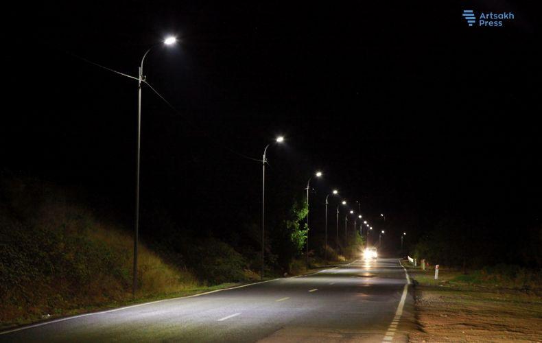 Photo of Ստեփանակերտ֊Շուշի ավտոճանապարհն ապահովվեց գիշերային լուսավորությամբ