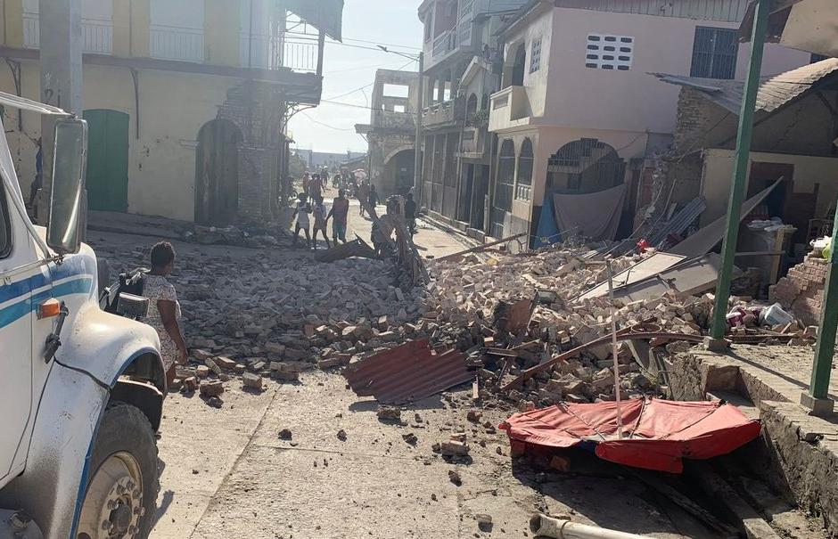 Photo of Առնվազն 29 մարդ է զոհվել Հայիթիում տեղի ունեցած ուժգին երկրաշարժի հետեւանքով