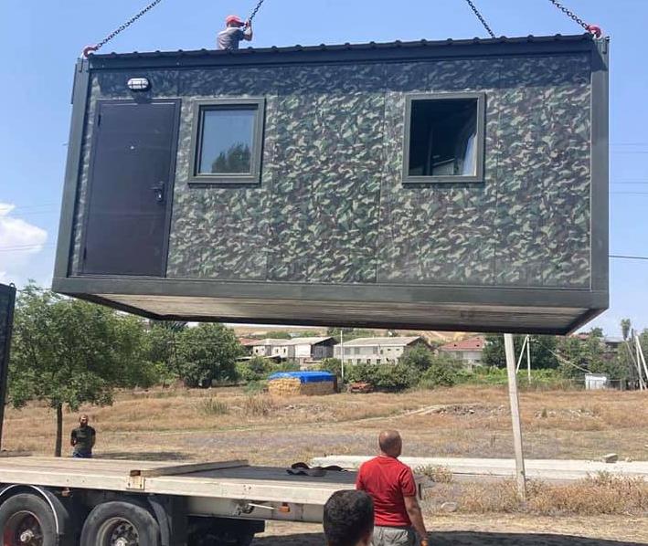 Photo of Խոստացված նվերները՝ hատուկ սահմանապահների համար նախատեսված տնակները, հասան Տեղ