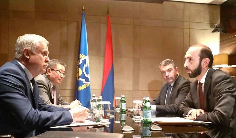 Photo of Глава МИД Армении и генсек ОДКБ обсудили ситуацию на армяно-азербайджанской границе