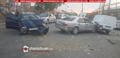 Photo of Ավտովթար Արարատի մարզում․ բախվել են Mercedes-ը, Opel-ն ու Иж-ը․ կան վիրավորներ