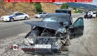 Photo of Խոշոր ավտովթար Սյունիքի մարզում. բախվել են Mercedes-ն ու Niva-ն. կա վիրավոր