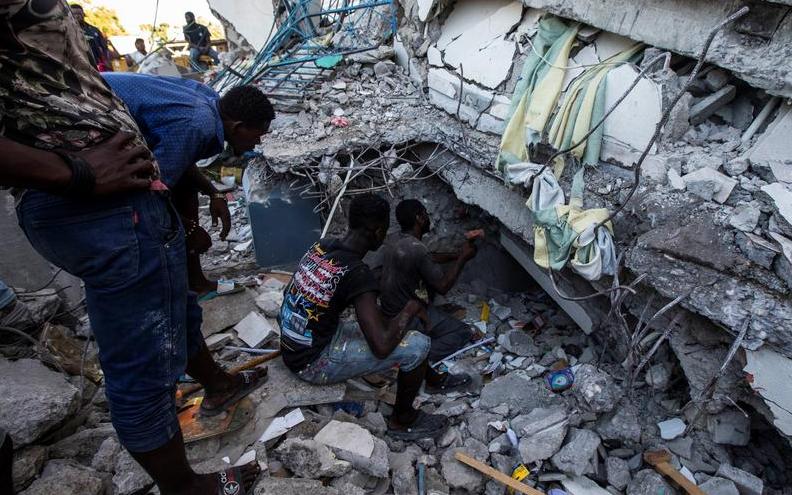 Photo of Հայիթիում երկրաշարժի զոհերի թիվը հասել է 724-ի