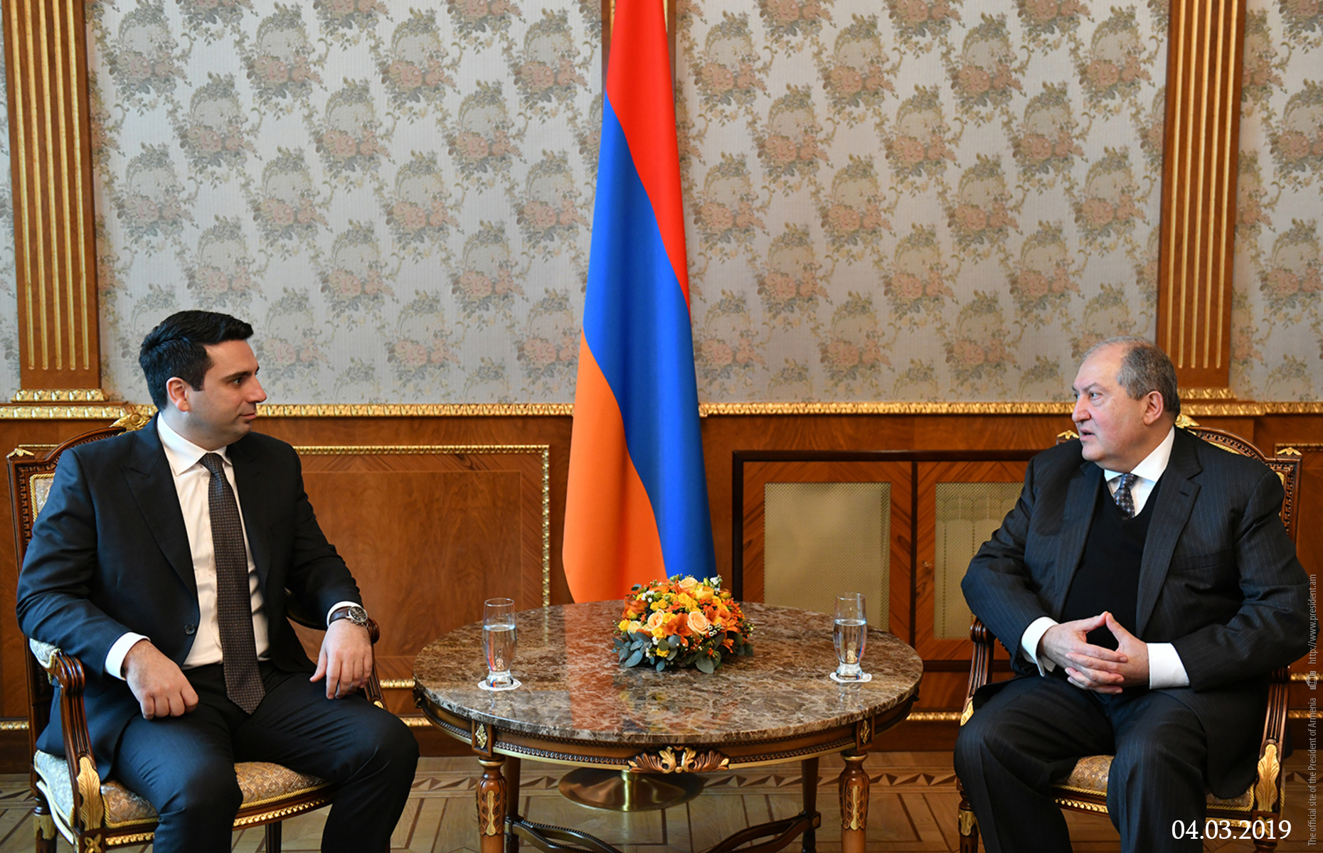Photo of Արմեն Սարգսյանը շնորհավորել է Ալեն Սիմոնյանին