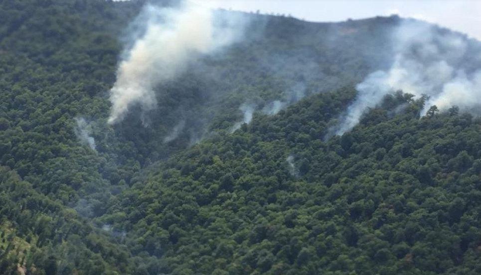 Photo of Ադրբեջանի հարավում անտառներ են այրվում