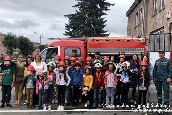 Photo of Երեխաներն այցելել են Լոռու ճգնաժամային կառավարման կենտրոն