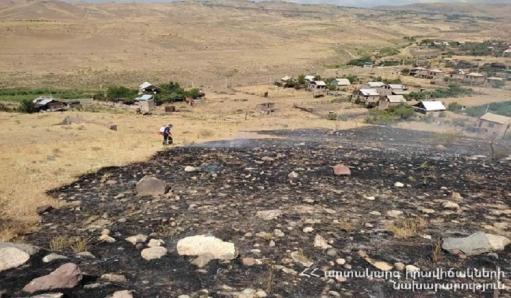 Photo of Մուշավան թաղամասում բռնկված հրդեհը մարվել է