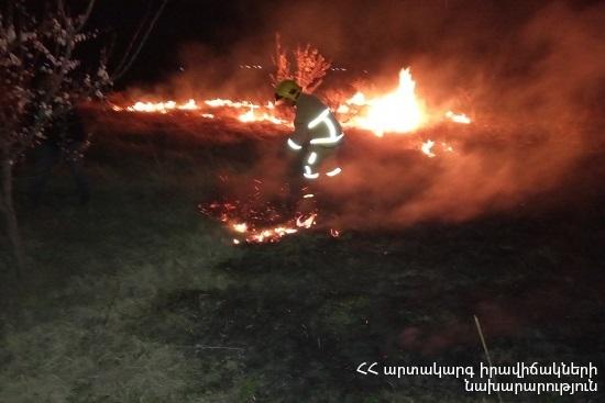 Photo of Հրշեջ-փրկարարները մարել են ընդհանուր 51.4 հա տարածքում բռնկված հրդեհները
