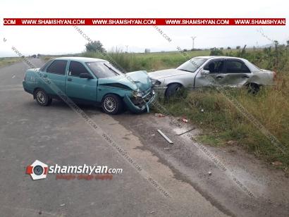 Photo of Ավտովթար Արմավիրի մարզում. բախվել են Mercedes և ՎԱԶ-21010 մակնիշի ավտոմեքենաները, կա 4 վիրավոր