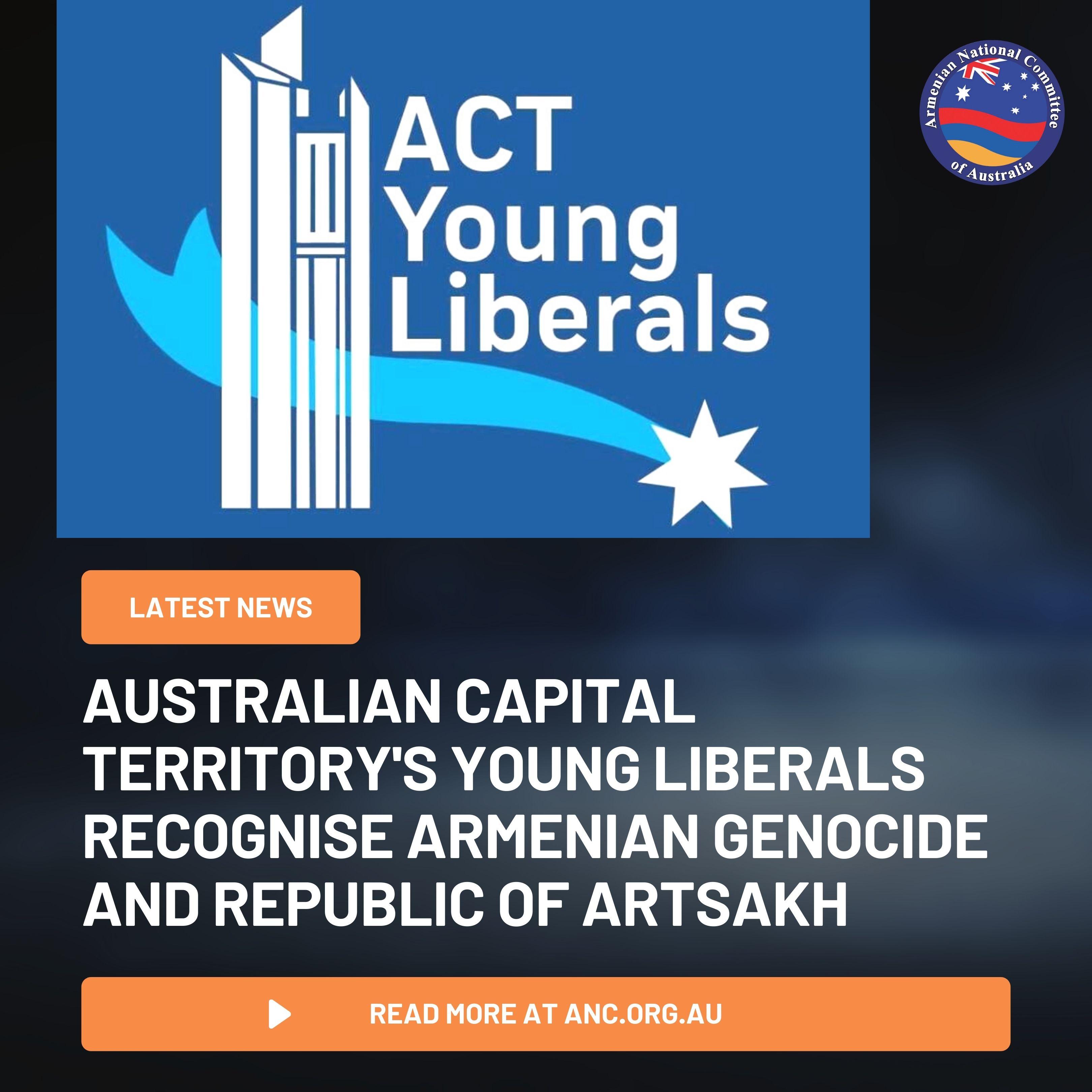 Photo of Молодежное движение столичной территории Австралии признало Геноцид армян, греков и ассирийцев