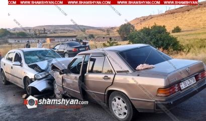 Photo of Խոշոր ավտովթար Կոտայքի մարզում. ճակատ-ճակատի բախվել են Mercedes-ն ու Opel-ը. 3 վիրավորների մեջ կա 3-ամյա տղա