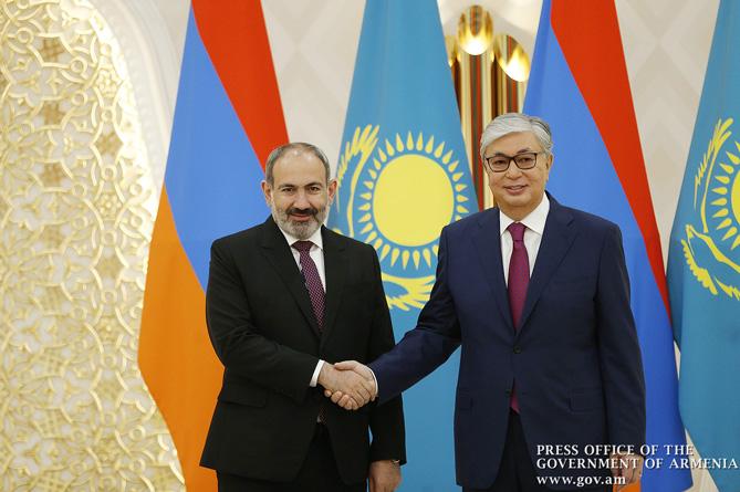 Photo of Президент Казахстана поздравил Никола Пашиняна в связи с назначением на пост премьер-министра