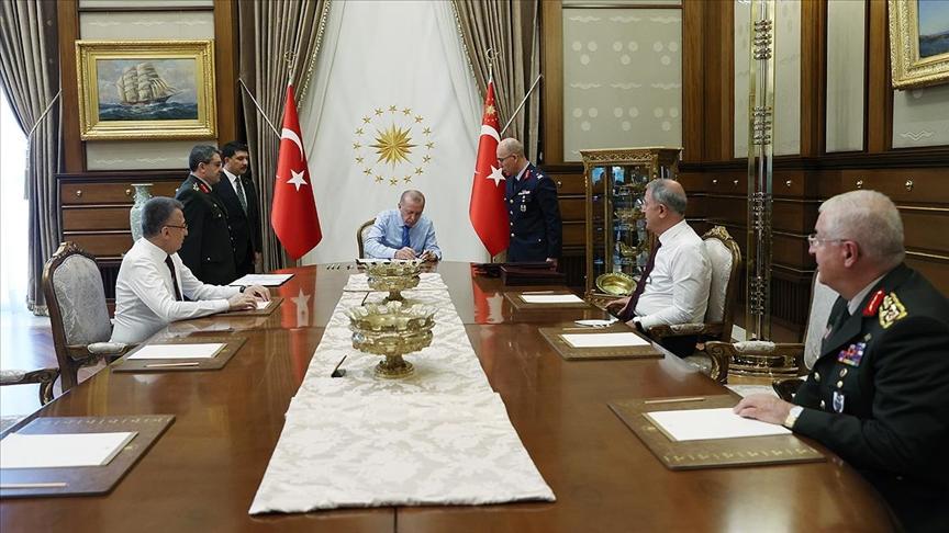 Photo of Թուրքիայում բանակի ղեկավար կազմին առնչվող մի շարք որոշումներ են ընդունվել