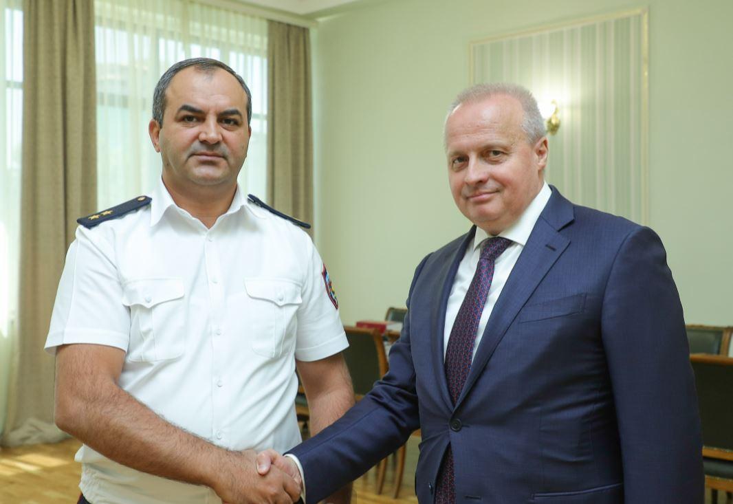 Photo of Прокурор Армении Артур Давтян принял посла РФ в Армении Сергея Копыркина