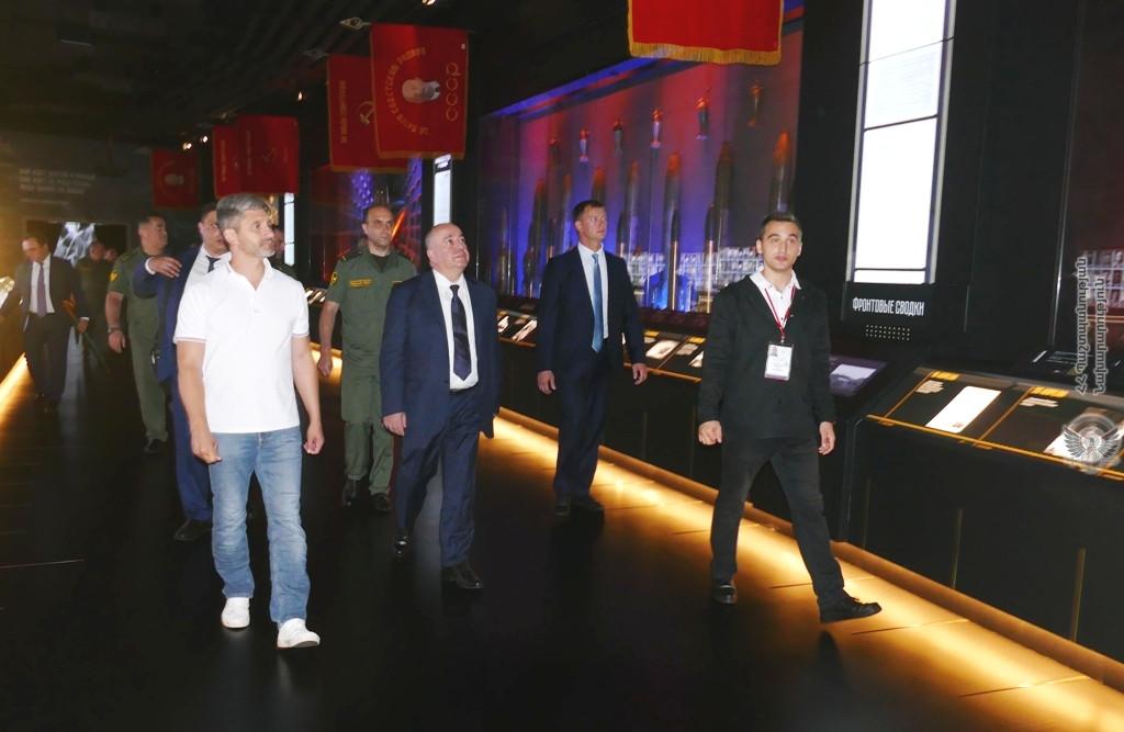 Photo of Արշակ Կարապետյանն այցելել է «Պատրիոտ» զբոսայգի