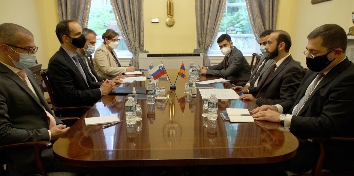 Photo of Տեղի է ունեցել ՀՀ ԱԳ նախարարի հանդիպումը Սլովենիայի ԱԳ նախարարի հետ