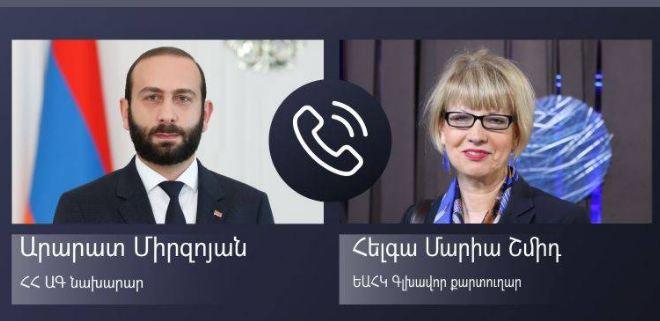 Photo of Арарат Мирзоян представил генсеку ОБСЕ провокации Азербайджана