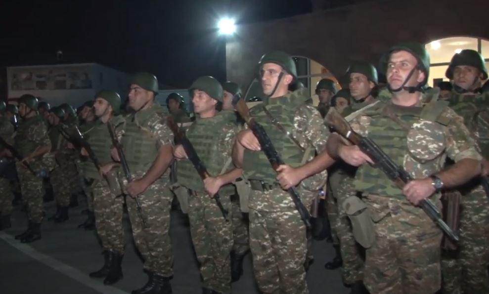 Photo of Ոստիկանության զորքերի հերթական զորախումբն է մեկնել մարտական հերթապահության