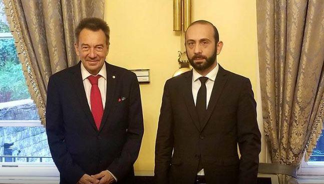 Photo of Глава МИД Армении на встрече с главой МККК поднял вопрос о немедленном освобождении армянских пленных
