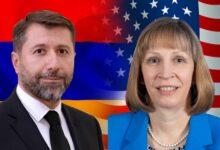 Photo of Карен Андреасян и посол США обсудили реформы в судебно-правовой и в антикоррупционной сферах