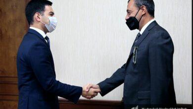 Photo of ՊԵԿ նախագահ Ռուստամ Բադասյանն ընդունել է ՀՀ-ում Իտալիայի արտակարգ և լիազոր դեսպանին